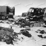 Разгромленный итальянский корпус в районе Богучара. 19.12.1942 автор Александр Капустянский
