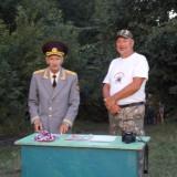 Открытие детского лагеря Новиков Н. Л. и В.Д. Березуцкий