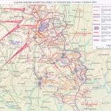 Карта боевых действий на Верхнем Дону с 13.01.1943 по 02.02.1943