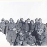 """11 декабря 1942. """"Итальянцы после ночного патрулирования"""""""