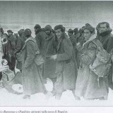 Итальянские пленные в районе Богучара