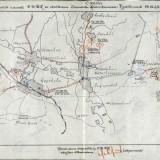 Схема действий частей 24 тк в районе Чертково