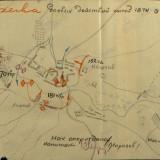 Схема боя 18 танкового корпуса за ст.Мешковскую