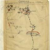 Схема положения частей 3 ТА к исходу 16.01.1943
