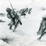 Рисунки хранились в школьном музее села Полтавка